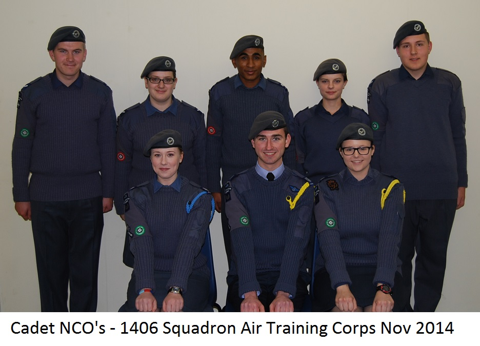 Cadet NCO's 2014